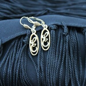 German Monogram Earrings
